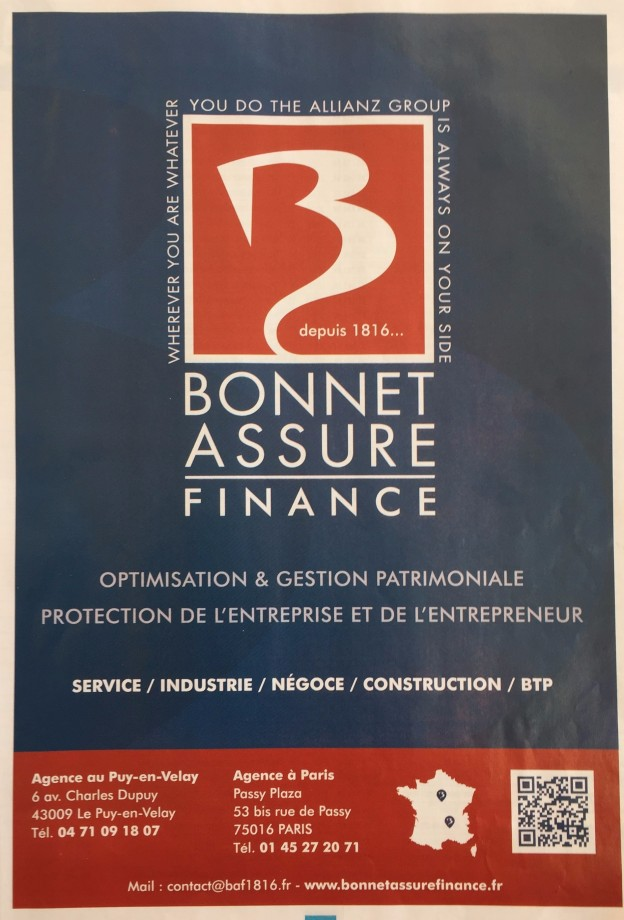 bonnet assure finance panorama des entreprises 2016
